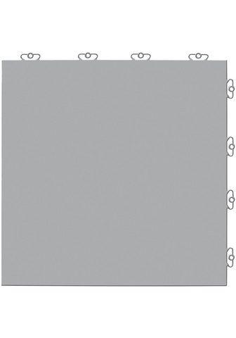 Bergo Flooring Terrassenplatten »Elite grau« 38x38 cm...