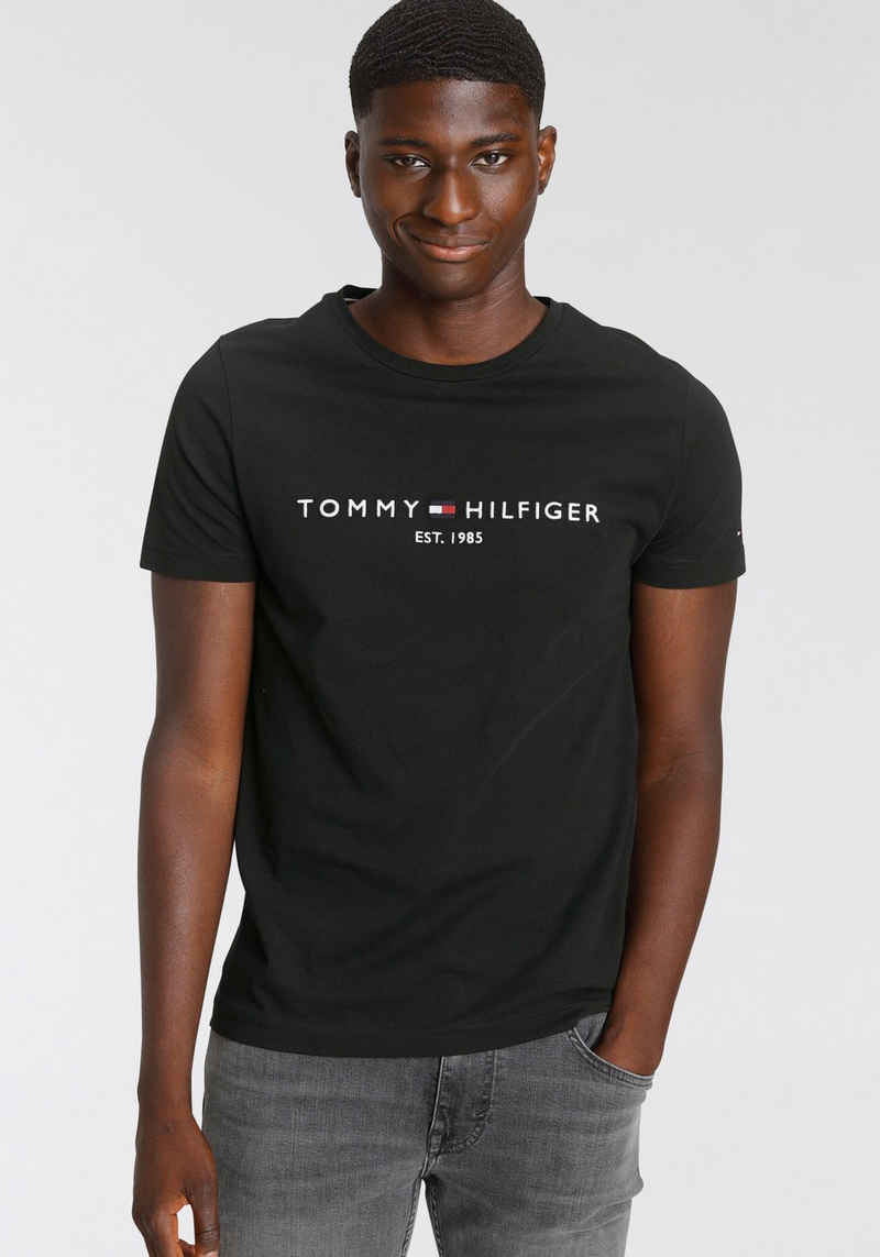 Tommy Hilfiger T-Shirt »TOMMY FLAG HILFIGER TEE«