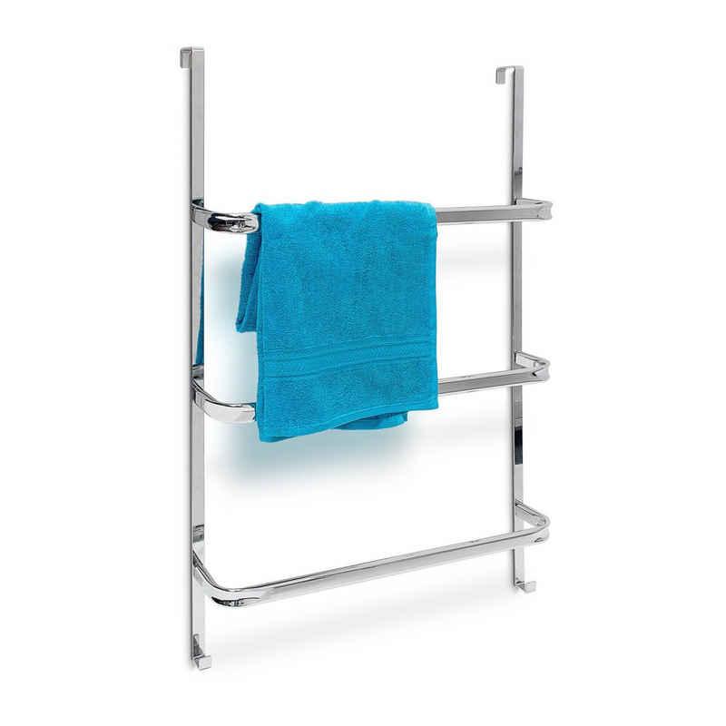 relaxdays Handtuchhalter »Tür-Handtuchhalter groß«