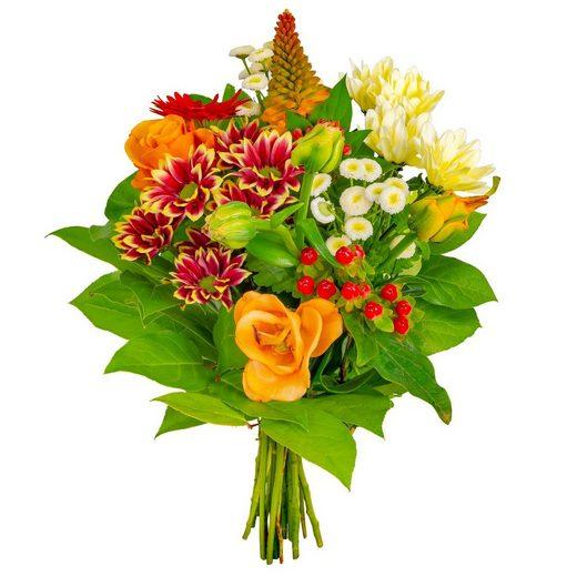 FLOWRFRAME Blumenstrauß »13 bunte gemischte Blumen«