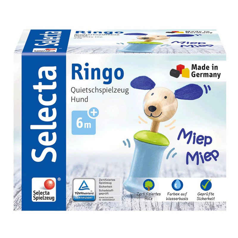 Selecta Greifling »Hund Ringo«
