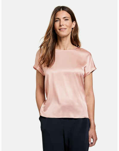 GERRY WEBER Kurzarmshirt »Blusenshirt aus Satin« (1-tlg)