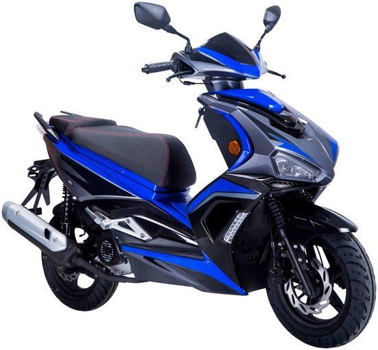 GT UNION Motorroller »Striker«, 50 ccm, 45 km/h, Euro 5, EURO 5