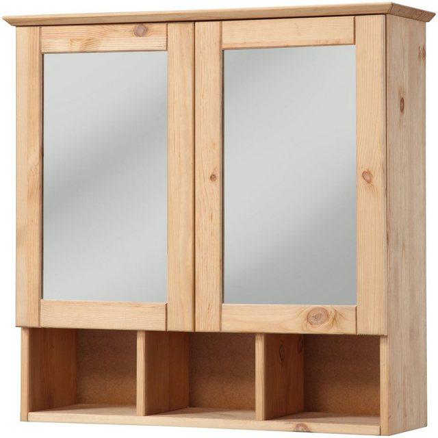 Spiegel - welltime Spiegelschrank »Landhaus Sylt« Breite 60 cm, aus Massivholz  - Onlineshop OTTO