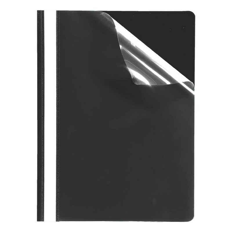 Otto Office Premium Hefter, mit glasklarem Vorderdeckel, Format DIN A4, bis 200 Blatt