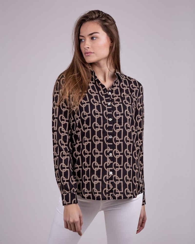 Key Largo Klassische Bluse »GINA« mit ausgefallenem Muster