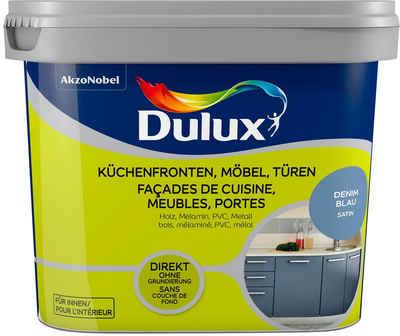 Dulux Holzlack »Fresh Up«, für Küchen, Möbel und Türen, denim blue, 0,75 l
