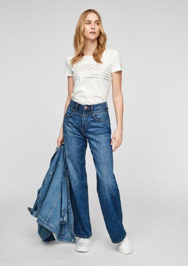 s.Oliver Weite Jeans »SURI«