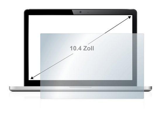 upscreen Schutzfolie »für Notebooks 26.4 cm (10.4 Zoll) 210 x 158 mm«, Folie Schutzfolie klar antibakteriell