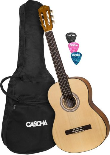 Cascha Konzertgitarre »Student Series« 4/4