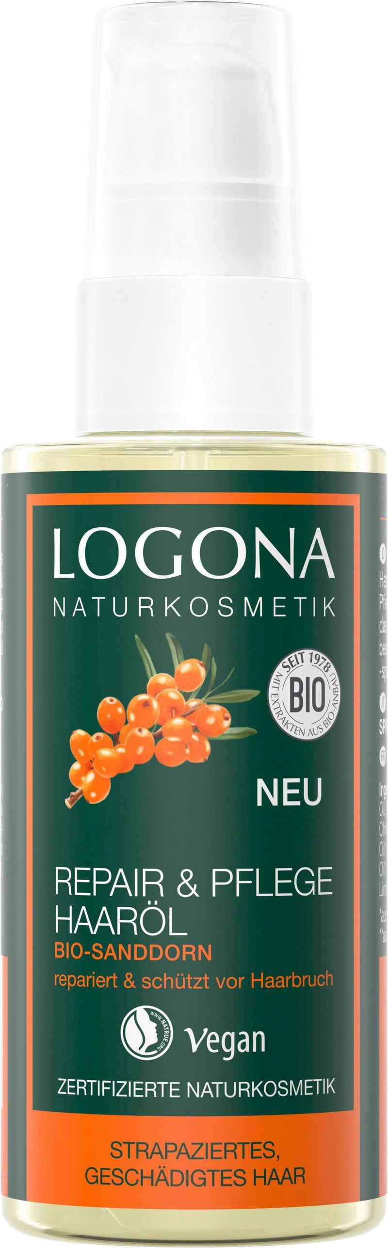 LOGONA Haaröl »Logona Repair&Pflege Haaröl Bio-Sanddorn«