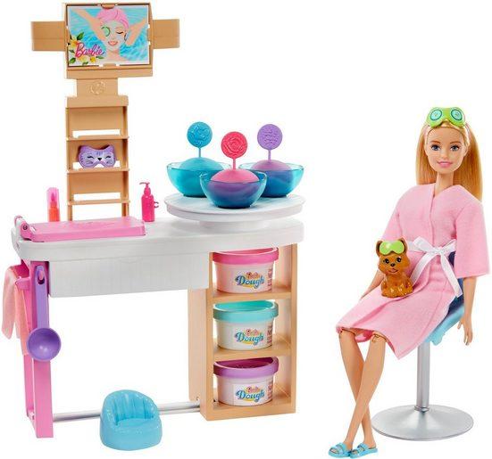 Mattel® Anziehpuppe »Barbie Wellness Gesichtsmasken«, mit Knete