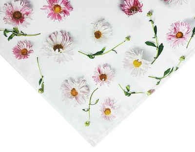 """NEO-24 Tischdecke »Tisch-Mitteldecke """"Blütenpracht"""" 85 x 85 cm pflege« (1-tlg), Fotodruck"""