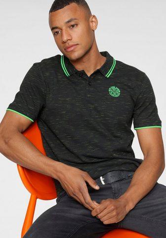 H.I.S Polo marškinėliai in markanter Melange...