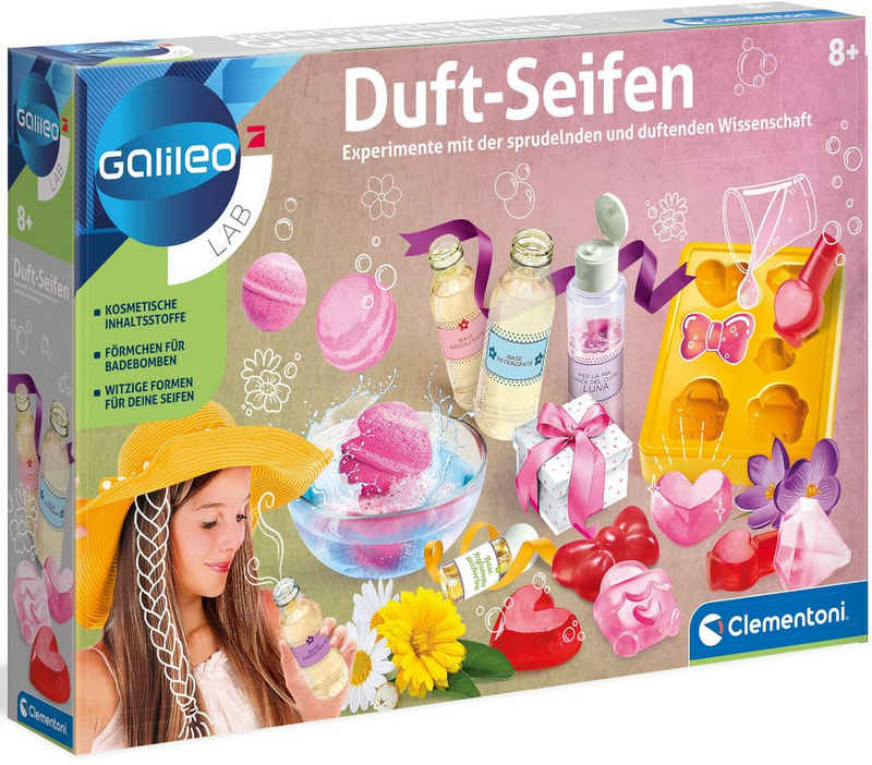 Clementoni® Kreativset »Galileo Duft-Seifen«, Made in Europe
