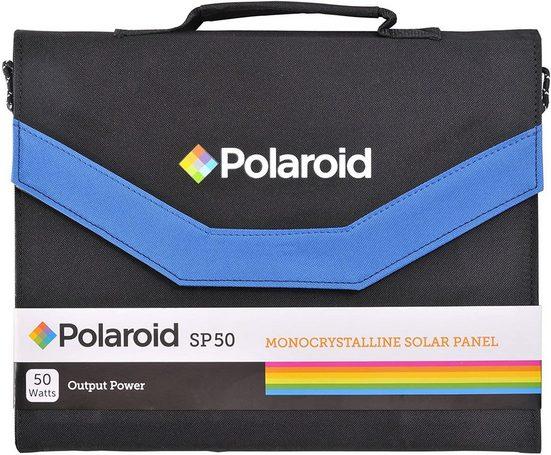 Polaroid »Polaroid SP50 Faltbares Solar Panel mit 50W Ladeleistung, Universal-Ausgang und Adaptern, 50 W« Solar Panel