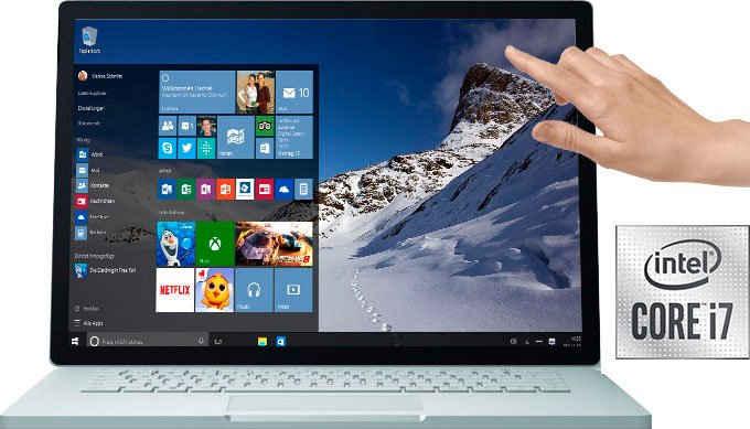 Microsoft Surface Book 3 i7, 512/32GB Notebook (38,1 cm/15 Zoll, Intel Core i7 1036G7, GeForce® GTX 1660Ti, 512 GB SSD)