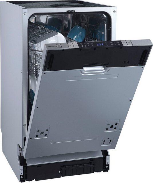 Küchengroßgeräte - Hanseatic vollintegrierbarer Geschirrspüler, HGVI4582D10J7714GS, 9 l, 10 Maßgedecke  - Onlineshop OTTO