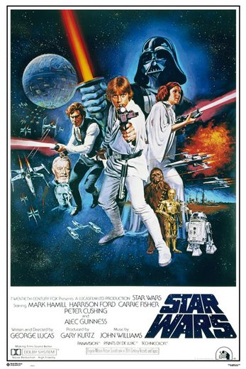 empireposter Poster »Star Wars Maxi Poster«, Star Wars - Orange Sword of Darth Vader (kein Set), nur das Poster ohne Rahmen