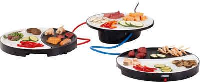 PRINCESS Tischgrill Tischgrill Dinner4All 103082, 250 W, mit zwei Teppanyaki-Grillplatten