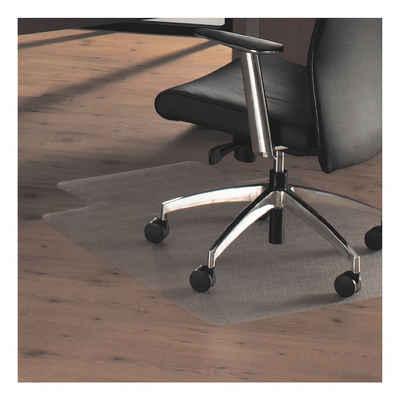 Otto Office Bodenschutzmatte, rechteckig mit Lippe, für Hartboden, Fußbodenheizung geeignet