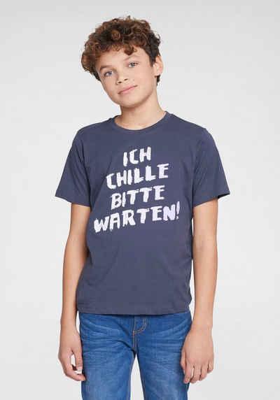 KIDSWORLD T-Shirt »ICH CHILLE, BITTE WARTEN«