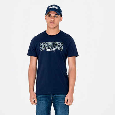 New Era Print-Shirt »New Era NFL SEATTLE SEAHAWKS Script T-Shirt«