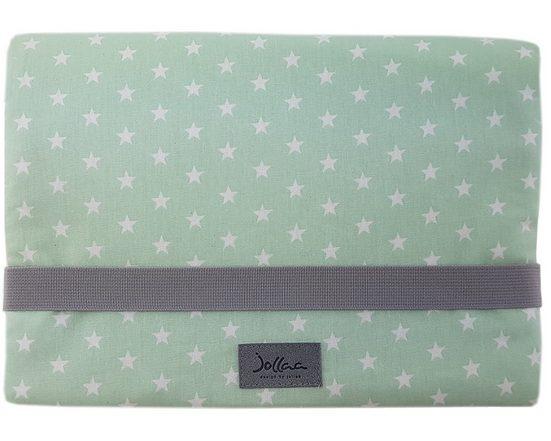 JOLLAA Windeltasche »Sterne«, Windeltasche für unterwegs, kleine Wickeltasche für Windeln & Feuchttücher, Windeletui, Wickelmäppchen