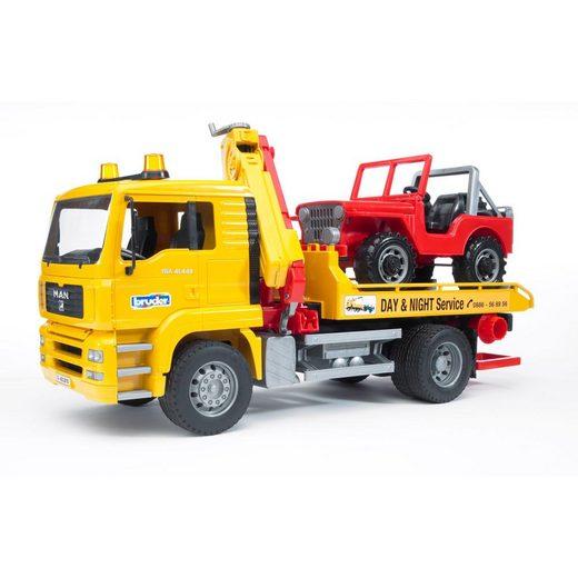 Bruder® Spielzeug-LKW »MAN TGA Abschlepp-LKW«