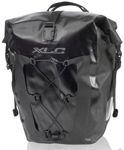 XLC Gepäckträgertasche »Einzeltaschenset BA-W38« (2-tlg., 2er-Pack)