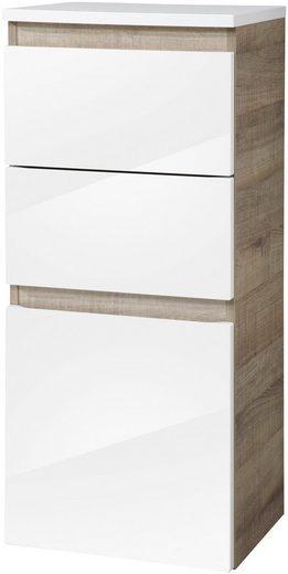 FACKELMANN Midischrank »Piuro«, H/B/T: 89,5 x 40,5 x 30,5 cm, 2 Schubladen, 1 Tür
