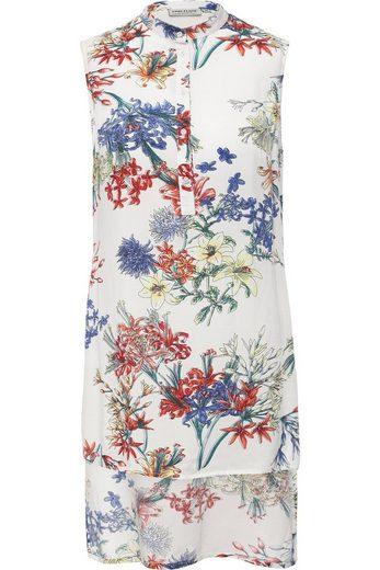 Finn Flare Klassische Bluse mit zartem Blumenprint