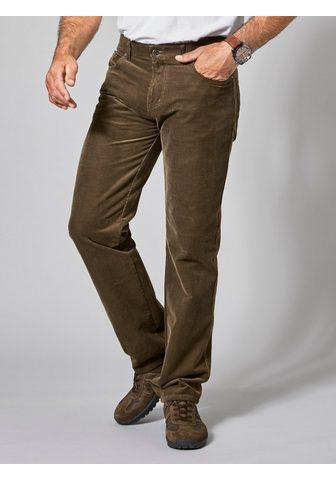 Men Plus by HAPPYsize Velvetinės kelnės