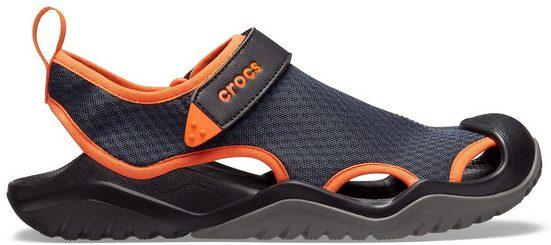 Crocs »Swiftwater Mesh Deck Sandal M« Sandale mit kontrastfarbenen Details