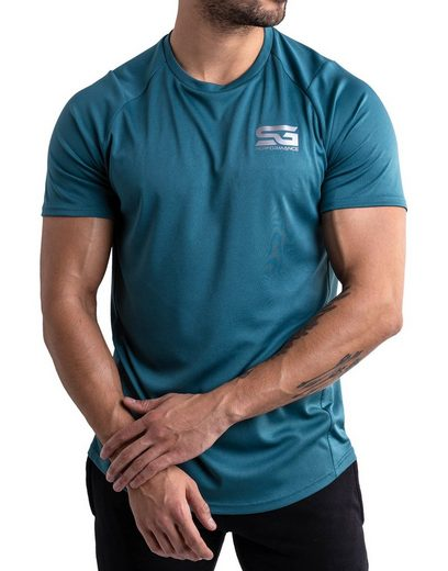 SATIRE GYM® Trainingsshirt »Muscle Fit Shirt«
