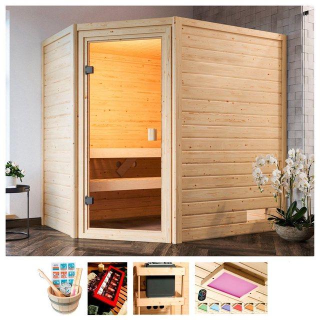 Saunen und Zubehör - KARIBU Sauna »Rügen 3«, 195x145x187 cm, ohne Ofen  - Onlineshop OTTO
