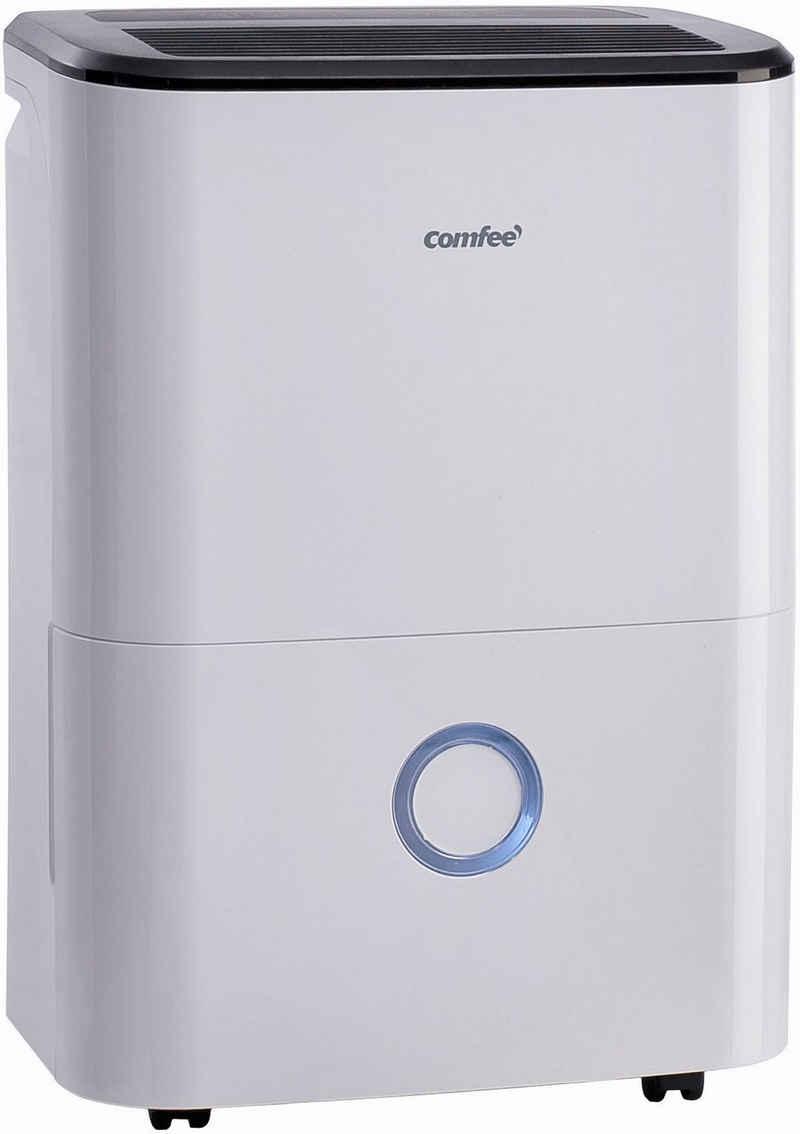 comfee Luftentfeuchter MDDF-16DEN7, für 110 m³ Räume, Entfeuchtung 16 l/Tag, Tank 3 l