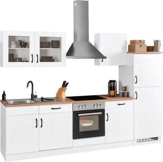 Einbauküchen - HELD MÖBEL Küchenzeile »Athen«, ohne E Geräte, Breite 270 cm  - Onlineshop OTTO