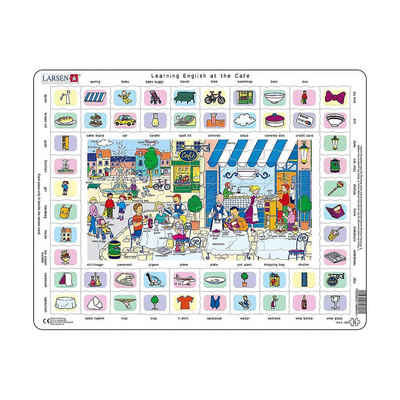 Larsen Puzzle »Rahmen-Puzzle, 70 Teile, 36x28 cm, Learning«, Puzzleteile