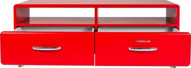 Tenzo Lowboard »Cobra«, mit 2 Schubladen & 2 offenen Fächern, Design von Ru günstig online kaufen