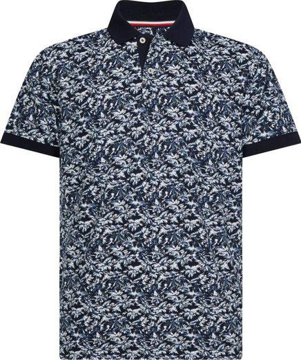 Tommy Hilfiger Big & Tall Poloshirt »BIG & TALL LEAF PRINT REGULAR POLO«