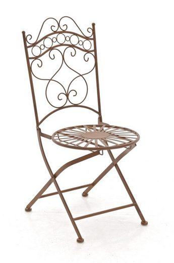 CLP Gartenstuhl »Indra« handgefertigter Gartenstuhl aus Eisen