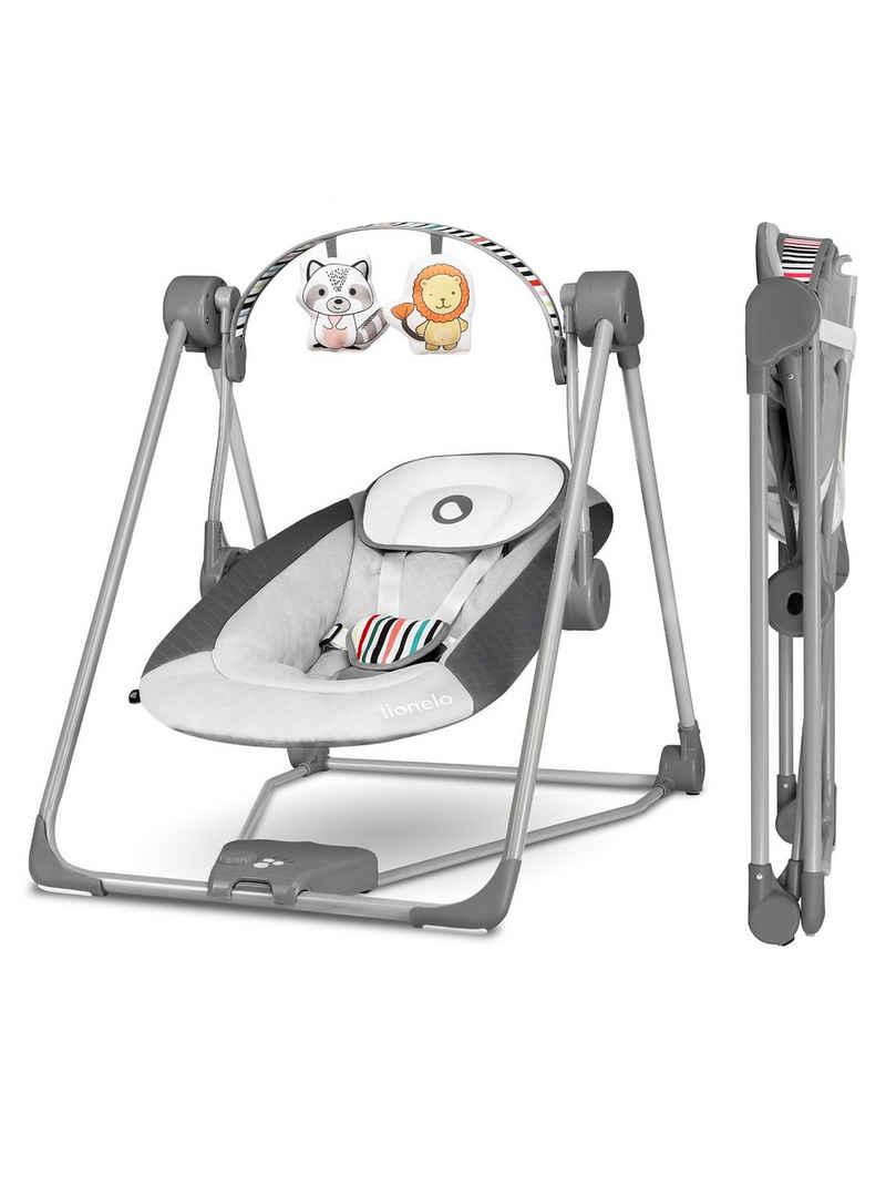 lionelo Babyschaukel »LO-OTTO«, Spielzeug Karussell, Sicher und stabil, Wippfunktion, 0+ bis 9 kg