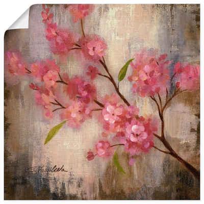 Artland Wandbild »Kirschblüte II«, Blumen (1 Stück), in vielen Größen & Produktarten -Leinwandbild, Poster, Wandaufkleber / Wandtattoo auch für Badezimmer geeignet