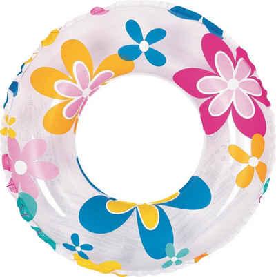 SunClub Schwimmreifen »Schwimmring Kunterbunt 3-fach sortiert« (Packung, 60cm Durchmesser, Lieferumfang: 1 Schwimmring Kunterbunt), sortierter Artikel - keine Modellauswahl möglich