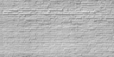 Architects Paper Fototapete »Brick White«, (Set, 5 St), Backstein Mauer, Vlies, glatt