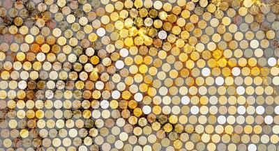 Architects Paper Fototapete »Atelier 47 Lavillia Orange«, glatt, 3D-Optik, (5 St)