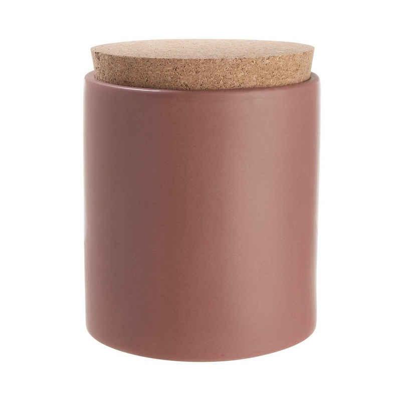 BUTLERS Aufbewahrungsbox »CLAY Aufbewahrungsdose mit Korkdeckel 610ml«