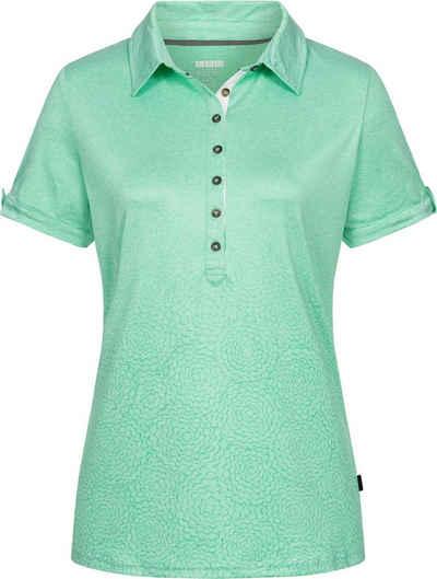 DEPROC Active Poloshirt »HEDLEY III NEW WOMEN« Funktionspolo mit nachhaltig recyceltem Polyester