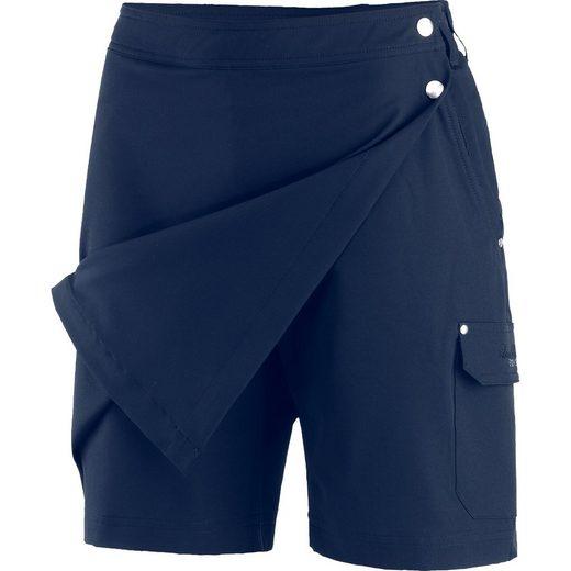 DEPROC Active 2-in-1-Shorts »GRANBY LPO II CS SKORT & Short Rock« Vorderteil als Rock, innen als Short